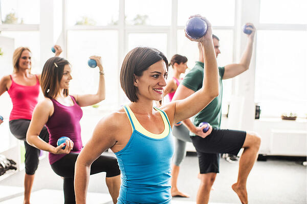 AFAA-Weight Ball stretch